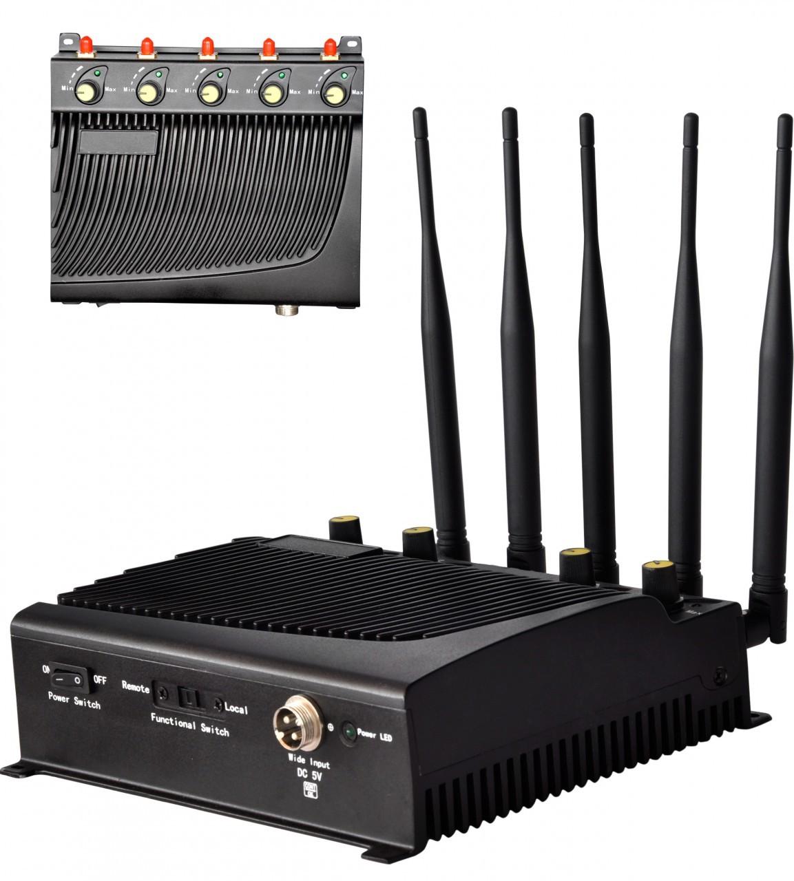 Nastavitelná rušička signálu (GSM/3G/4G/LTE) - (40m)